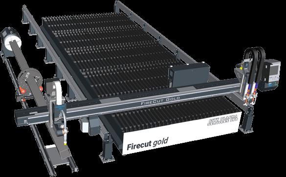 Firecut Gold 2018 CNC plasma cutting table