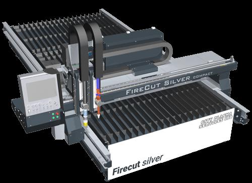 Firecut Silver 2018 CNC plasma cutting table