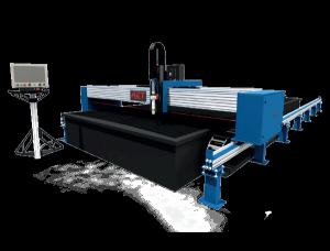 ACT- Maxor CNC plasma cutter